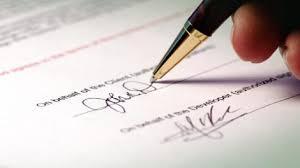 Chứng thực chữ ký có cần CMND bản chính?